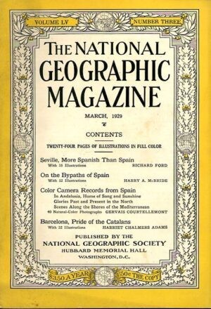 National Geographic March 1929-0