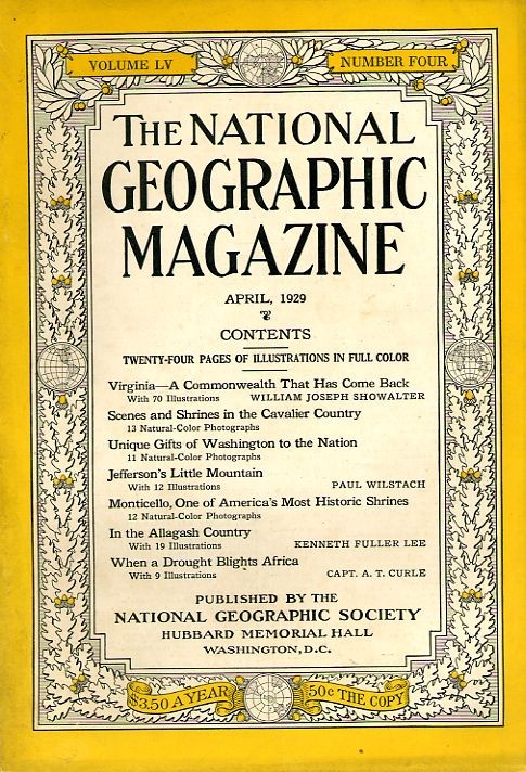 National Geographic April 1929-0