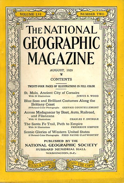 National Geographic August 1929-0
