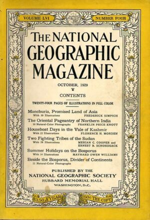 National Geographic October 1929-0