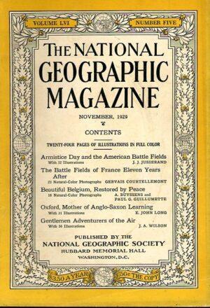 National Geographic November 1929-0