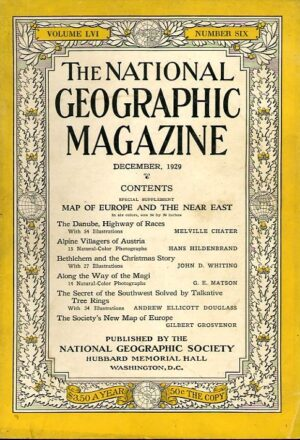 National Geographic December 1929-0