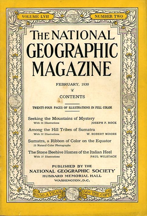 National Geographic February 1930-0
