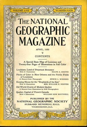 National Geographic April 1930-0