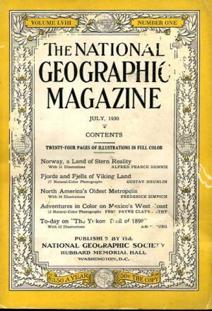 National Geographic July 1930-0