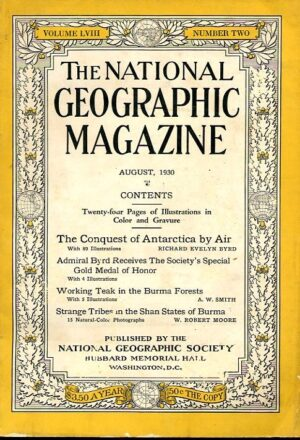 National Geographic August 1930-0