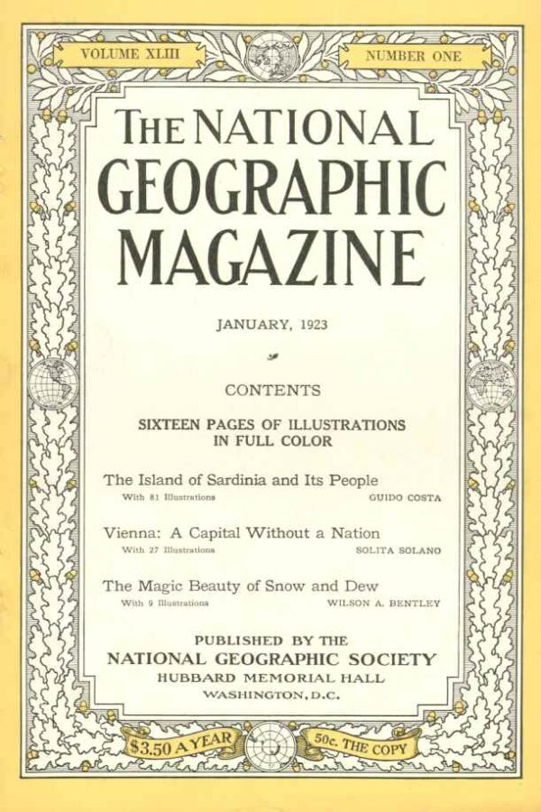 National Geographic January 1923-0