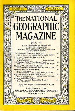 National Geographic July 1953-0
