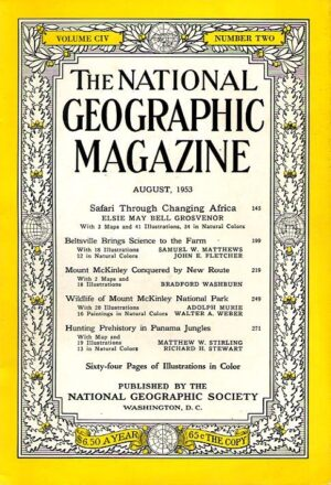 National Geographic August 1953-0