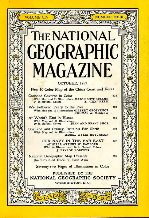 National Geographic October 1953-0