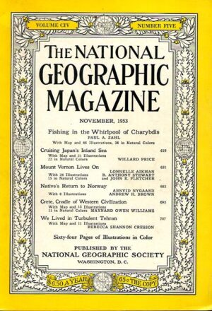 National Geographic November 1953-0