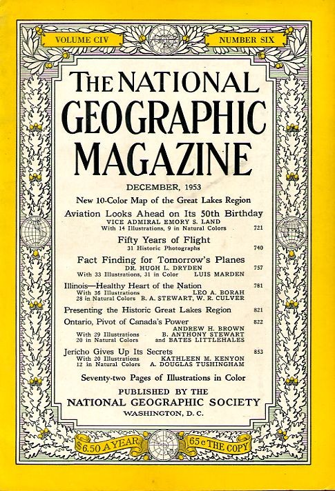 National Geographic December 1953-0