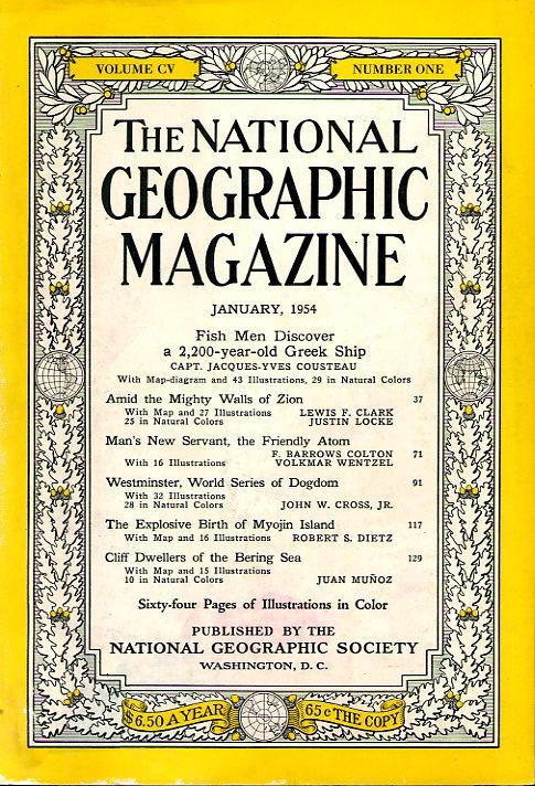 National Geographic January 1954-0