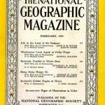 National Geographic February 1954-0