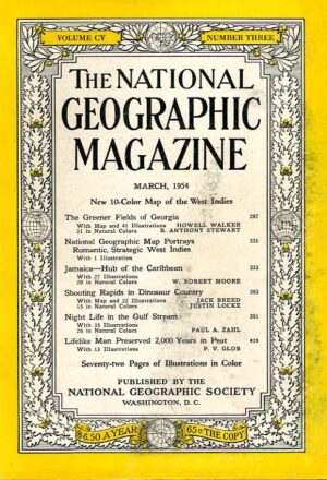 National Geographic March 1954-0