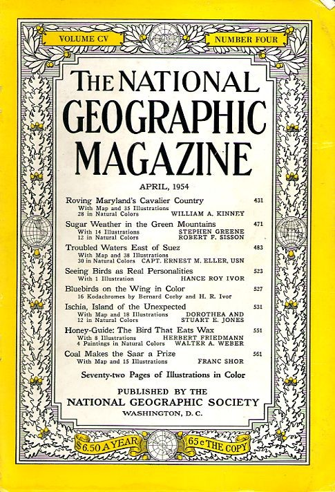 National Geographic April 1954-0