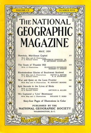 National Geographic May 1954-0