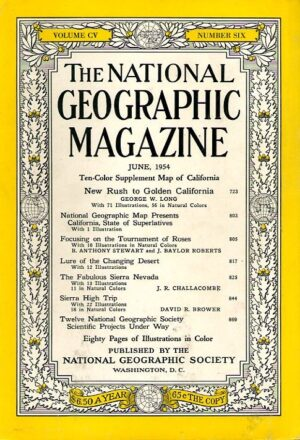 National Geographic June 1954-0
