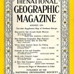 National Geographic August 1954-0