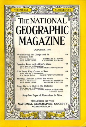 National Geographic October 1954-0