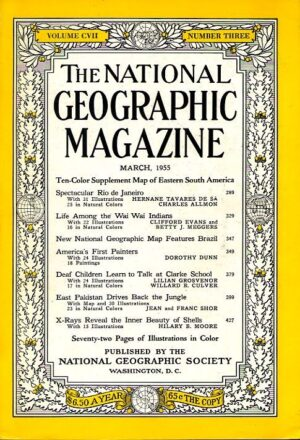 National Geographic March 1955-0