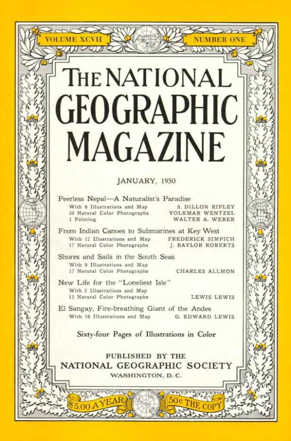 National Geographic January 1950-0