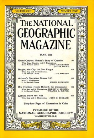 National Geographic May 1955-0