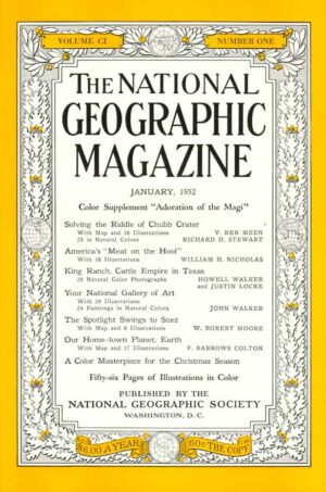 National Geographic January 1952-0