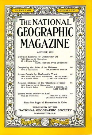 National Geographic August 1955-0