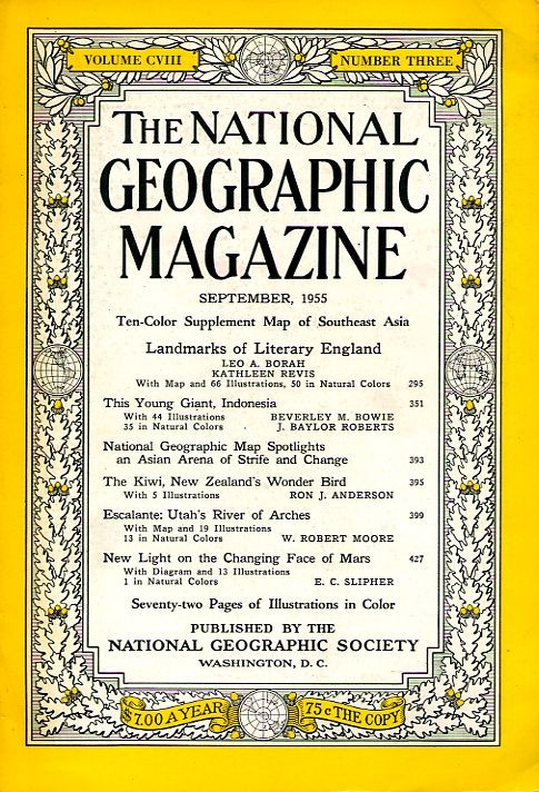 National Geographic September 1955-0