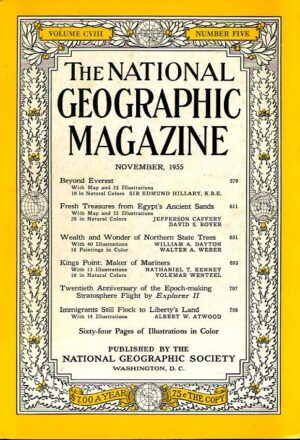 National Geographic November 1955-0