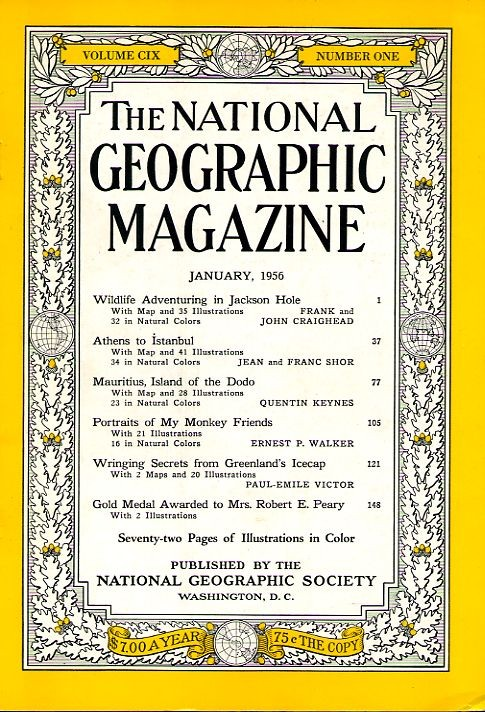 National Geographic January 1956-0
