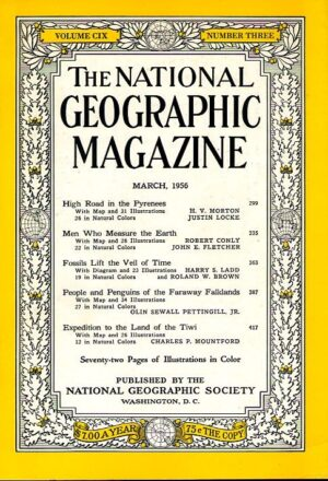 National Geographic March 1956-0