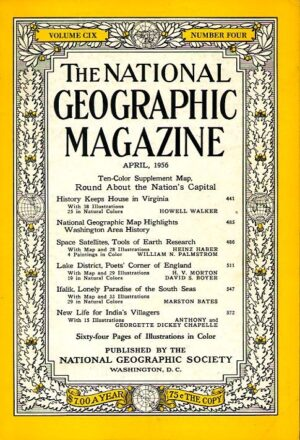 National Geographic April 1956-0