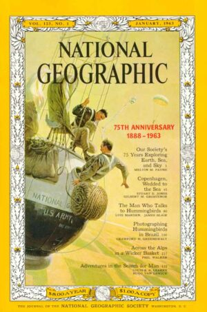 National Geographic January 1963-0