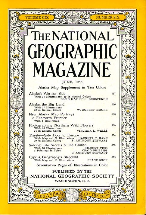 National Geographic June 1956-0