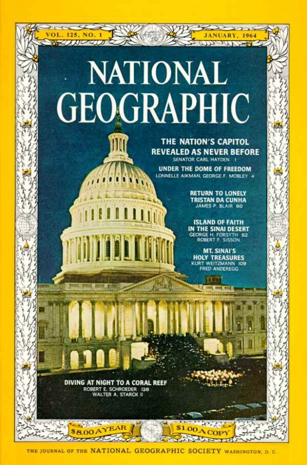 National Geographic January 1964-0