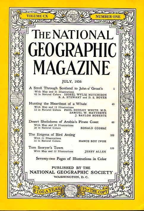 National Geographic July 1956-0