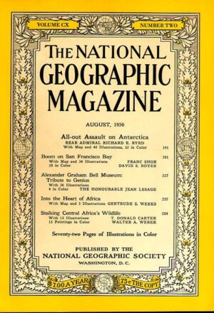 National Geographic August 1956-0