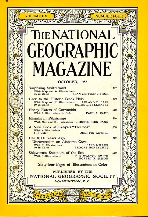 National Geographic October 1956-0