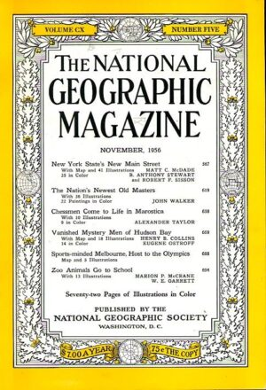 National Geographic November 1956-0