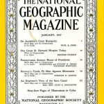 National Geographic January 1957-0
