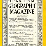 National Geographic February 1957-0