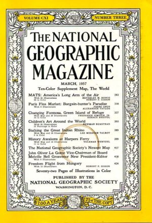 National Geographic March 1957-0