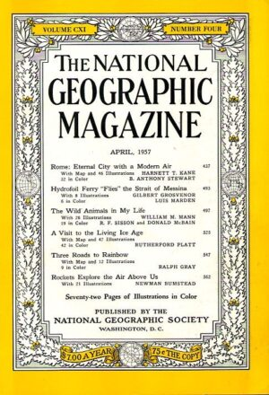 National Geographic April 1957-0