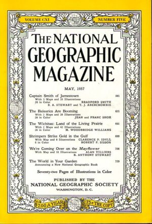National Geographic May 1957-0