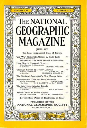 National Geographic June 1957-0