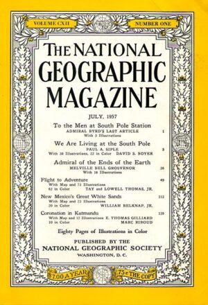 National Geographic July 1957-0