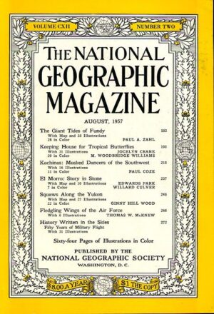 National Geographic August 1957-0