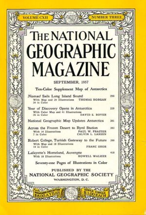 National Geographic September 1957-0